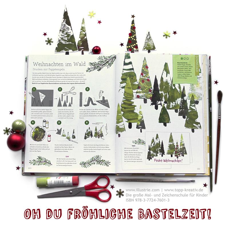 Eigene Weihnachtskarten Drucken.Weihnachtskarten Diy Illustrie