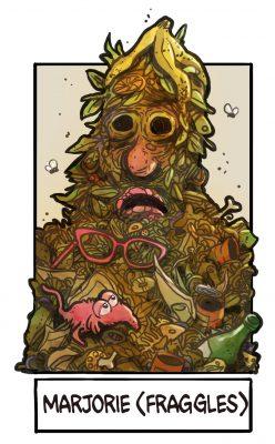 Allwissende Müllhalde (Fraggles) for #sixfanarts by Illustrie . #drawingchallenge #draw #illustration #zeichnen #zeichnung #fanart #comicstyle #lineart #characterdesign #thefraggles #all-knowing-trash-heap #tvserie #jimhenson #muppets #trash #allwissendemüllhalde #müllberg