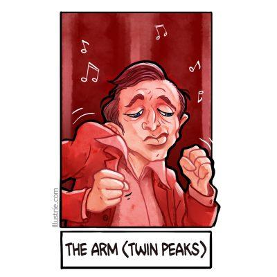 The arm / dancing dwarf / twin peaks for #sixfanarts by Illustrie  . #drawingchallenge #draw #illustration #zeichnen #zeichnung #fanart #comicstyle #lineart #characterdesign #movie #tvserie #twinpeaks #davidlynch #dancingdwarf #music #backwards #rückwärts #themanfromanotherplace