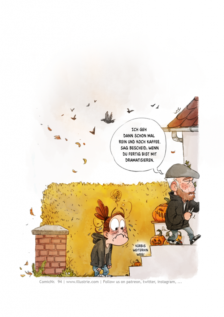 Autobiografische Comicseite (2/5) über den Diebstahl einen selbstgeschnitzten Kürbis, der schon zu gammeln anfing. . #drawing #illustration #art #nerd #comicstyle #comicnerd #geek #zeichnen #humor #sketch #dessiner #doodle #characterdesign #cartoonart #autobio #comic #sliceoflife #comicjournal #diary #webcomic #bandedessinée #manga #csedigital #pumpkin #halloween #decoration #kürbis #horrorcomic #funny #trickortreat #herbst #autumn #cute